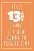 Noces De Muguet, Carnet De Notes: Id�e Cadeau Original Et Utile Pour C�l�brer 13 Ans De Mariage, Pour Elle Ou Pour Lui