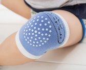 Set van 2 Paar Baby Kniebeschermers Unisex Blauw - One Size