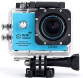 Action camera met Wifi - blauw