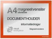 Magneetvensters A4 (uitwisbaar) - Oranje