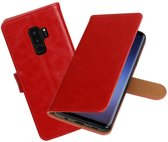 BestCases - Samsung Galaxy S9+ Pull-Up booktype hoesje rood