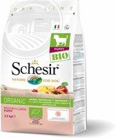 Schesir Puppy Bio Medium-Large - Hondenvoer - Kip 2.5 kg