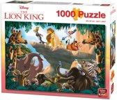 Disney Puzzel 1000 Stukjes - Lion King - Leeuwenkoning - King