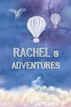 Rachel's Adventures: Softcover Personalized Keepsake Journal, Custom Diary, Writing Notebook with Lined Pages