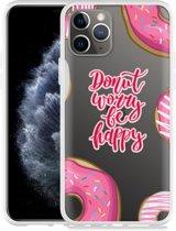 Apple iPhone 11 Pro Hoesje Donut Worry