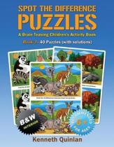 Spot the Difference Puzzles - Book 3