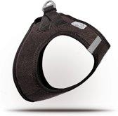 Curli Vest Cord hondentuigje - 3XS - borstomvang 24-28 cm - Bruin