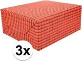 3x Dakpannen papier 50 x 70 cm op rol