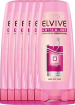 L'Oréal Paris Elvive Nutri-Gloss Conditioner - 6 x 200 ml - Voordeelverpakking