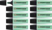 STABILO BOSS ORIGINAL Pastel 116 Fris Mint - Doos 10 stuks