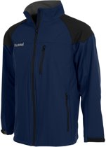 Hummel Authentic Soft Shell Jack - Jassen  - blauw donker - XXL