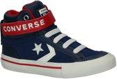 Converse Jongens Sneakers Pro Blaze Strap Hi Kids - Blauw - Maat 33