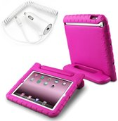 Tablethoes Kids-proof + Blue star autolader - iPad AIR 2 - ROZE