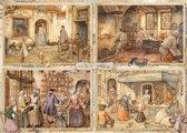 Anton Pieck Bakers From the 19th Century Premium Collection Puzzel 1000 Stukjes