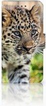 Huawei Mate 10 Pro Uniek Boekhoesje Baby Luipaard