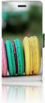 Samsung Galaxy Note 5 Book Case Design Macarons