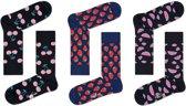 Happy Socks Fruit Sokken - 3 pack - Multi - Maat 41-46
