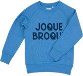 JOQUE BROQUE BLAUW KIDS SWEATER