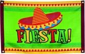 Mexicaanse fiesta vlag - Feestdecoratievoorwerp