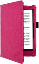 Premium Business Case, Betaalbare roze Hoes-Sleepcover voor Kobo Aura h2o Edition 2 2017, hot pink , merk i12Cover