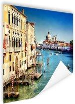 Venetie Poster 80x120 cm - Foto print op Poster (wanddecoratie woonkamer / slaapkamer) / Steden Poster
