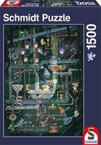 De doolhof machine - Legpuzzel - 1500 Stukjes