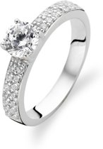 TI SENTO Milano Ring 1795ZI - Maat 60 (19 mm) - Gerhodineerd Sterling Zilver