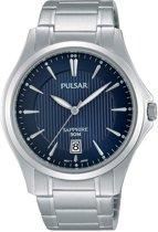 Pulsar PS9385X1 horloge heren - zilver - edelstaal