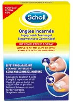 Scholl inger.teennagel set 65 gr