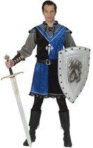 Middeleeuwse & Renaissance Strijders Kostuum   Onverschrokken Middeleeuwse Roofridder   Man   Maat 60-62   Carnaval kostuum   Verkleedkleding