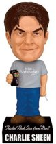 Charlie Sheen Talking Wacky Wobbler Bobble Head /Toys
