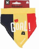 Martin Sellier - Halsband Voor Dieren - Bandana - Supporter Belgie - T 1- Multi- Maat S -