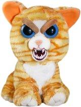 Halloween - Feisty pets kat/poes knuffel oranje 20 cm