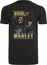 Bob Marley roots Tee black T-shirt Maat:XXL
