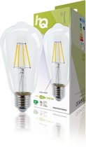LED Retro Filament Lamp E27 Dimmable ST64 4 W 345 lm 2700 K