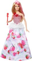 Barbie Dreamtopia Koninkrijk Zoethuizen Prinsessen Pop - Barbiepop sweetville princess