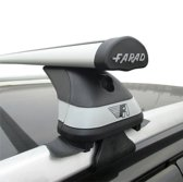 Faradbox Dakdragers Subaru Legacy Wagon 1999-2003 open dakrail, 100kg laadvermogen, luxset