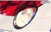 RDX Racedesign Koplampspoilers Alfa Romeo Mito (ABS)