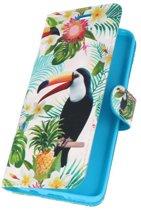 Samsung Galaxy S9 3D Print Toekan | bookstyle / book case/ wallet case Hoesje  | WN™