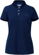 Tenson Anzu Polo Dames Sportpolo casual - Maat 42  - Vrouwen - blauw/wit