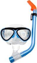 Waimea Duikmasker met Snorkel - Junior - Aqua/Zwart