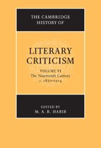 The Cambridge History of Literary Criticism: Volume 6, The Nineteenth Century, c.1830–1914