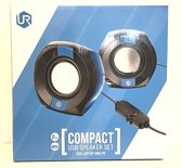 Trust Urban Compact USB Speakerset Black/Blue