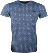 Deeluxe - Heren T-Shirt Model Paseo - Navy