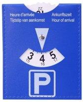 Lifetime Cars Parkeerschijf 15 X 12 Cm Blauw