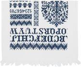 Clayre & Eef - Gastendoekje - Blauw - 40 x 60 cm - 6 stuks