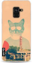 Casetastic Softcover Samsung Galaxy A8 (2018) - Cool Cat