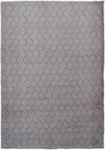Modern tapijt met ruitdessin bruin - 60 x 100 cm