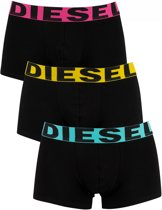 Diesel - Heren 3-Pack Shawn Boxershorts Zwart Multi - L