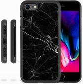 iPhone 7   8 Grip case Marmer Zwart